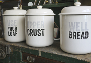 Personalise bread crock