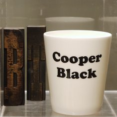 cooper black pen pot