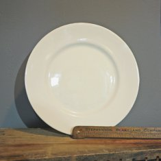 personalise cream dinner plate