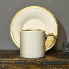 personalise 22ct espresso cup & saucer