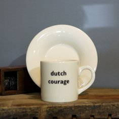 dutch courage espress cup & saucer