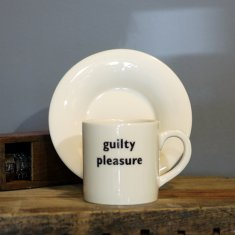 guilty pleasure espresso cup & saucer