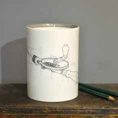 hand drill large pen pot