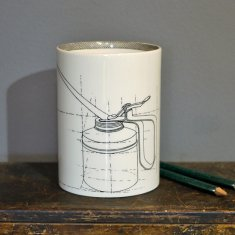 oil can large pen pot