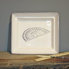 protractor hall tray