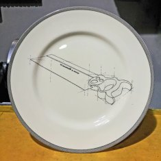 saw dinner plate
