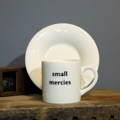small mercies espresso cup & saucer